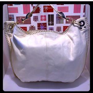 GentlyUsed Rebecca Minkoff Off White Leather Bag